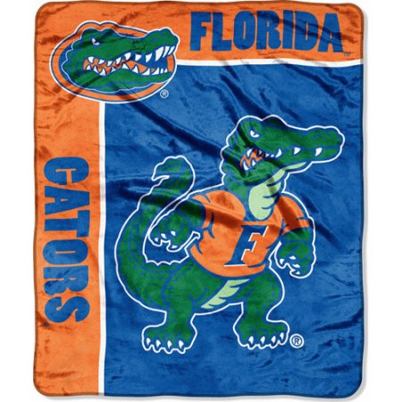 "NCAA School Spirit 50"" x 60"" Royal Plush Raschel Throw, Florida"