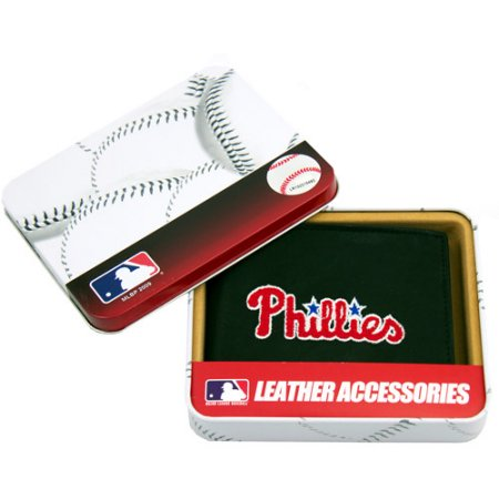 MLB Men's Philadelphia Phillies Embroidered Billfold Wallet