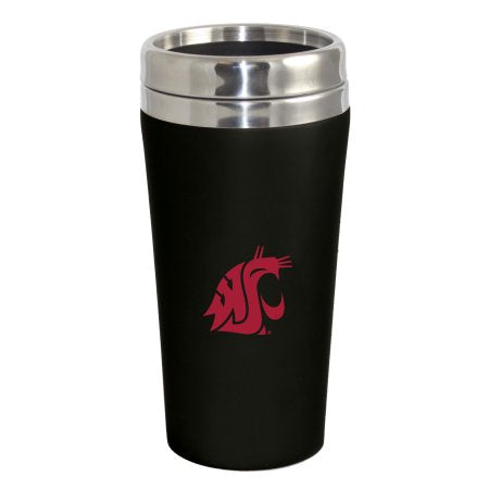 NCAA Washington State Cougars Double Walled Travel Tumbler