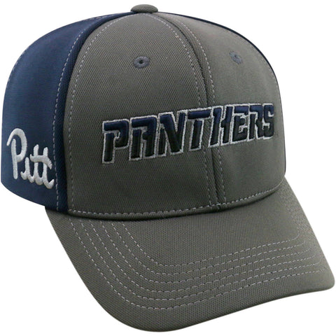 NCAA Pitt Panthers Grey Two Tone Baseball Adjustable Hat