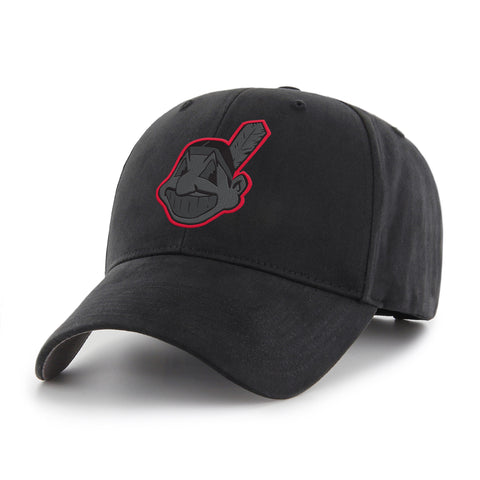 MLB Cleveland Indians Black Mass Adjustable Hat
