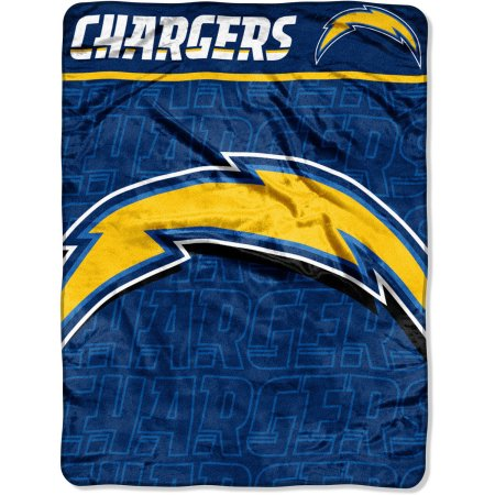 "NFL Los Angeles Chargers 46"" x 60"" Micro Raschel Throw Blanket"