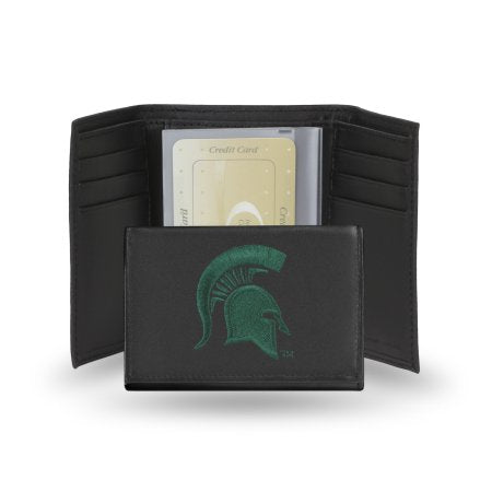 NCAA Men's Michigan State SpartansEmbroidered Trifold Wallet
