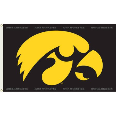 NCAA Iowa Hawkeyes 3'x5' Flag