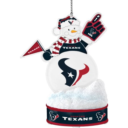 Topperscot by Boelter Brands NFL LED Snowman Ornament, Houston Texans