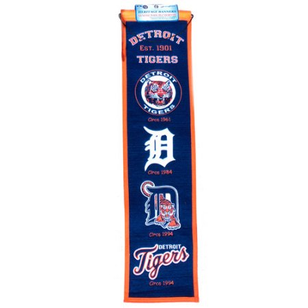 MLB Detroit Tigers Wool Heritage Banner