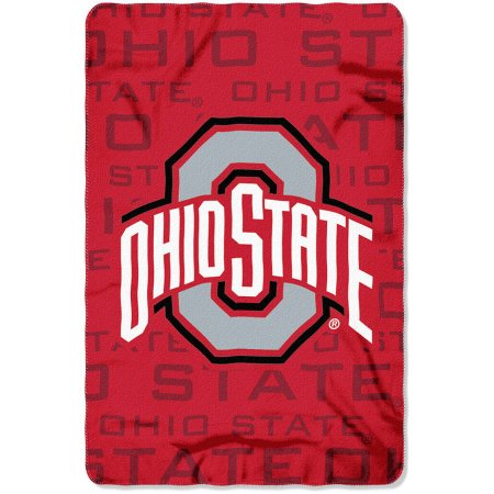 "NCAA Ohio State Buckeyes 40"" x 60"" Fleece Throw"