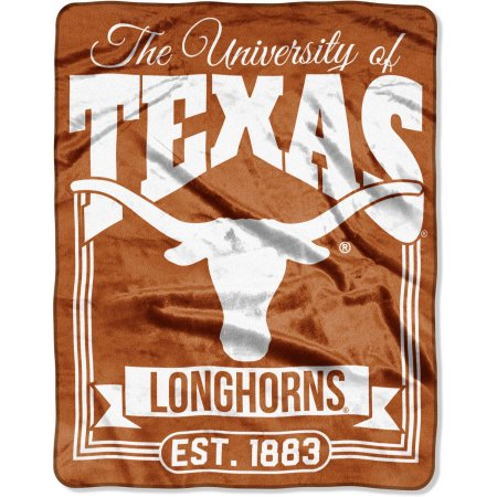 "NCAA Texas Longhorns ""Traction"" 55"" x 70"" Silk Touch Throw"