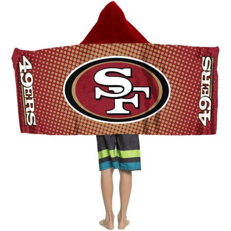 "NFL San Francisco 49ers ""Dots"" Youth Hooded Towel"