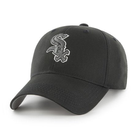 MLB Chicago White Sox Black Mass Adjustable Cap/Hat by Fan Favorite