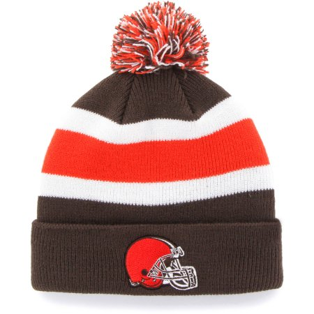 NFL Cleveland Browns Retro Breakaway Knit Stocking Hat Beanie with Pom