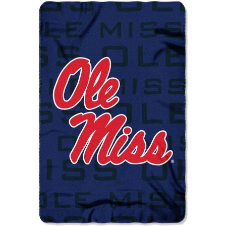 "NCAA Ole Miss Rebels 40"" x 60"" Fleece Throw"