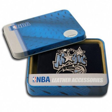 NBA Men's Orlando Magic Embroidered Trifold Wallet