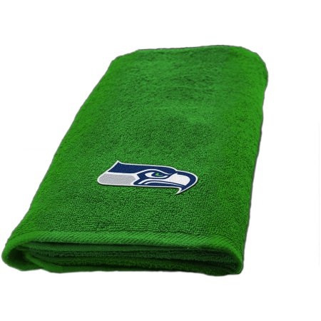 "NFL Seattle Seahawks Decorative Bath Collection - Fingertip Towel 11"" x 18"""