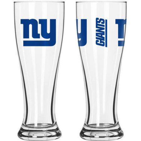 NFL New York Giants 2-Pack Gameday Pilsner Set