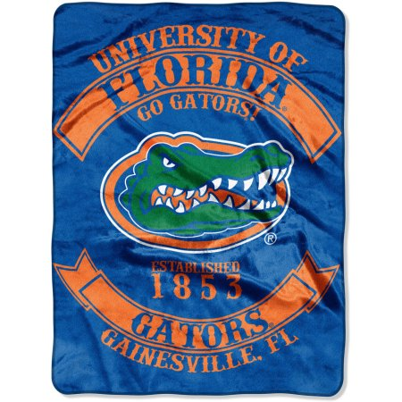 "NCAA Florida Gators ""Rebel"" 60"" x 80"" Raschel Throw"