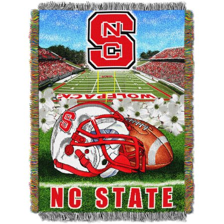 "NCAA 48"" x 60"" Tapestry Throw Home Field Advantage Series- North Carolina State"