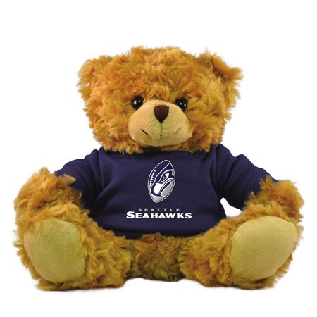 "Bleacher Creatures NFL 9"" Rally Men Hoodie Bear, Seattle Seahawks"