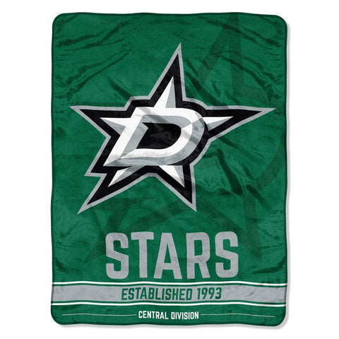 "NHL Dallas Stars ""Breakaway"" 46""x 60"" Micro Raschel Throw Blanket"