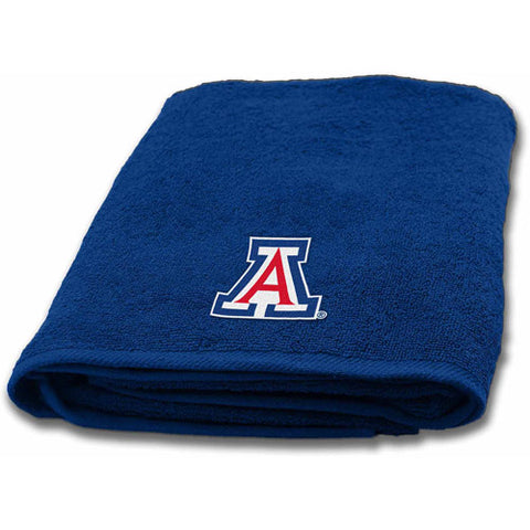 "NCAA Arizona Wildcats 25"" x 50"" Applique Bath Towel"
