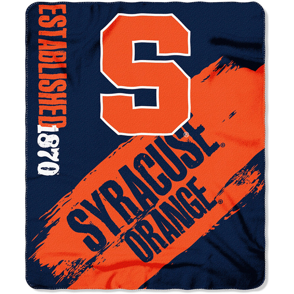 "NCAA Syracuse Orange 50"" x 60"" Fleece Throw"
