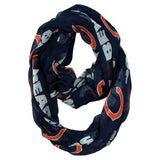 NFL Chicago Bears Sheer Infinity Scarf - Little Earth