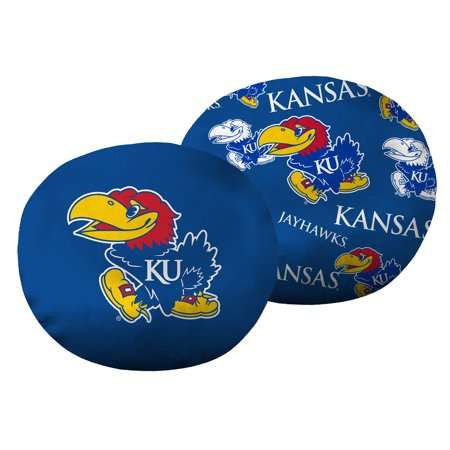 "NCAA Kansas Jayhawks 11"" Cloud Travel Pillow"