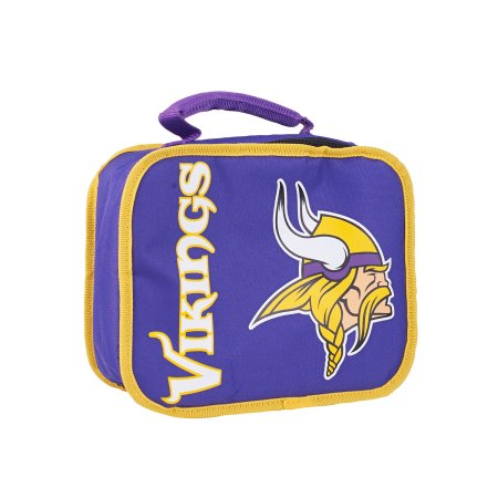 "NFL Minnesota Vikings ""Sacked"" 10.5""L x 8.5""H x 4""W Lunchbox Cooler"