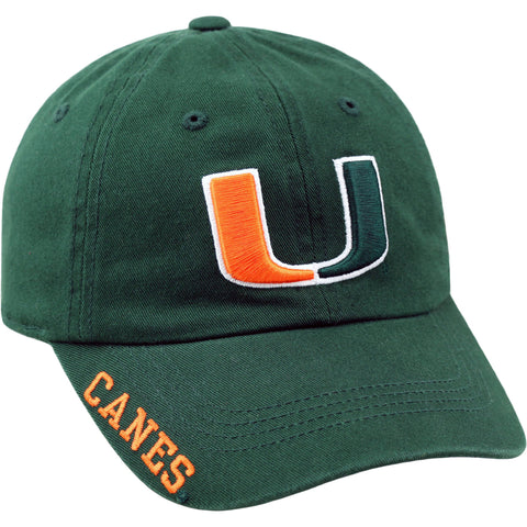 NCAA Men's Miami Hurricanes Home Adjustable Hat