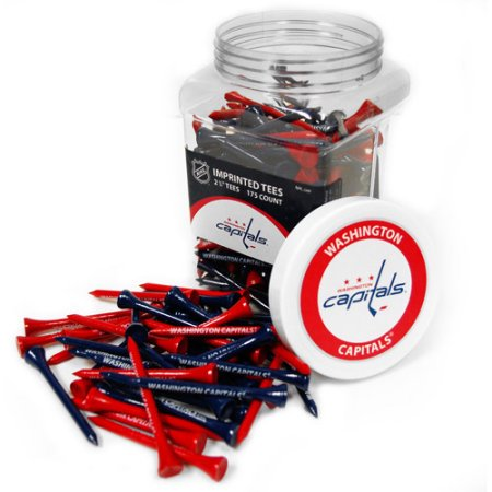 Team Golf NHL Washington Capitals Jar of 175 Golf Tees