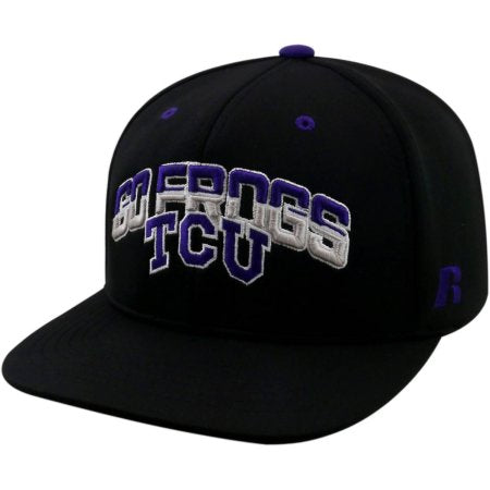 NCAA University of Texas Christian Horned Frogs Flatbill Baseball Hat \ Cap