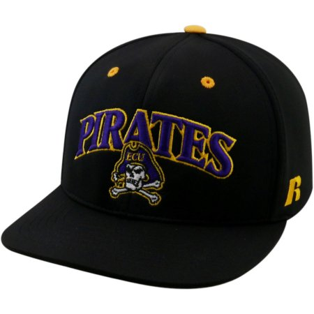 NCAA University of East Carolina Pirates Flatbill Baseball Hat \ Cap