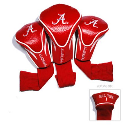 NCAA Alabama Crimson Tide 3 Pack Contour Head Covers