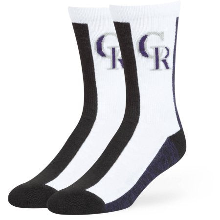 MLB Colorado Rockies Everett Crew Socks