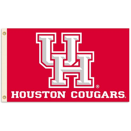 NCAA Houston Cougars 3'x5' Flag