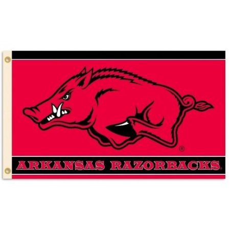 NCAA Arkansas Razorbacks 3'x5' Flag
