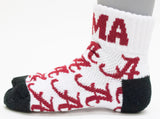 NCAA Alabama Crimson Tide Youth Quarter Socks
