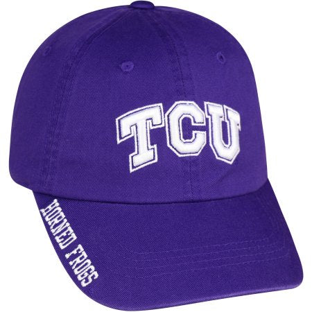 NCAA Men's Texas Christian Horned FrogsTeam Color Hat \ Cap