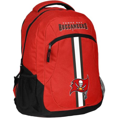 NFL Tampa Bay Buccaneers Action Stripe Logo Backpack