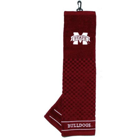 Team Golf NCAA Mississippi State Bulldogs Embroidered Golf Towel