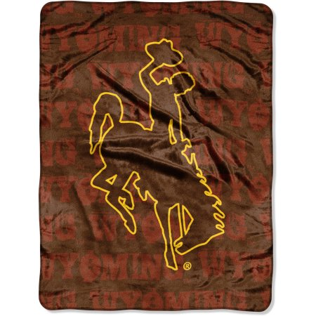 "NCAA Wyoming Cowboys 46"" x 60"" Micro Raschel Throw Blanket"