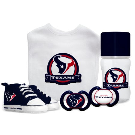 NFL Houston Texans 5-Piece Baby Gift Set