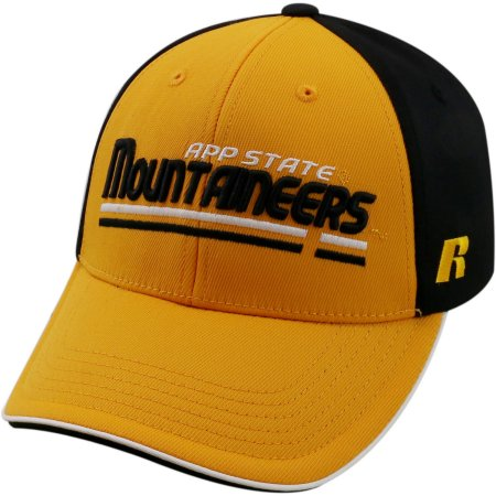 NCAA University of Appalachian State Mountaineers Away Two Tone Baseball Hat \ Cap