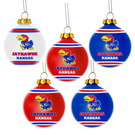 Forever Collectibles NCAA 5-Pack Shatterproof Ball Ornaments - LSU Tigers