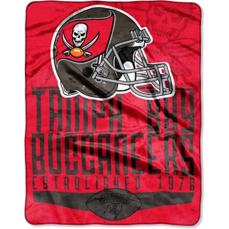 "NFL Tampa Bay Buccaneers 55"" x 70"" Silk Touch Throw"