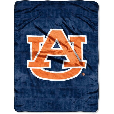 "Auburn Tigers 46"" x 60"" Micro Raschel Throw Blanket"