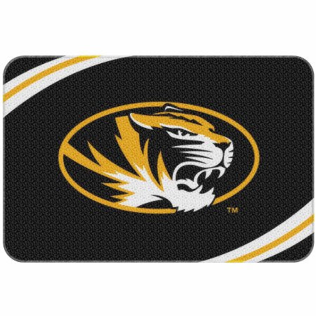 "NCAA Missouri Tigers 20"" x 30"" Round Edge Bath Rug"