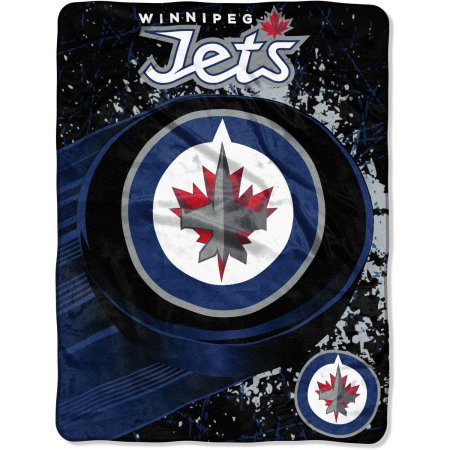"NHL Winnipeg Jets ""Ice Dash"" 46"" x 60"" Micro Raschel Throw Blanket"