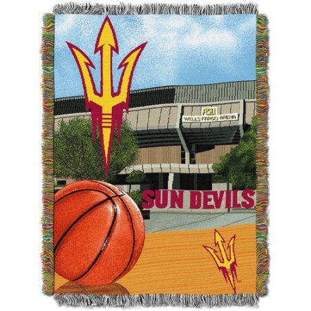 "NCAA 48"" x 60"" Tapestry Throw Home Field Advantage Series- Arizona State"