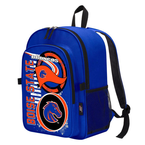 "Boise State Broncos ""Accelerator"" Backpack and Lunch Bag / Box Set"
